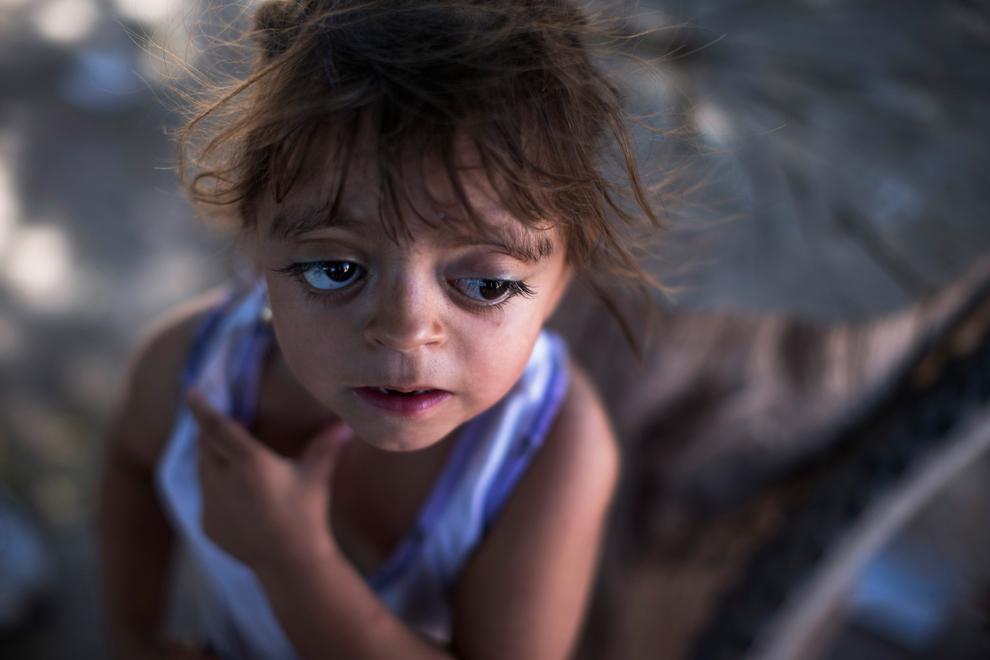 アルゼンチンの障害児カミラ