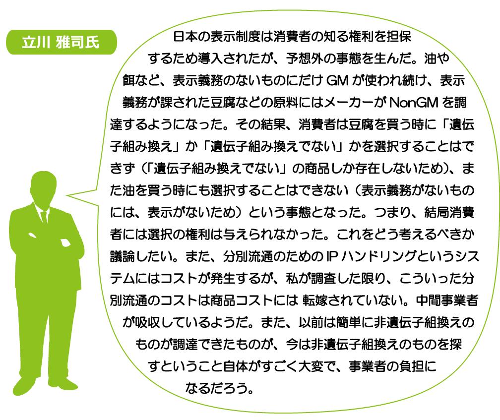 立川 雅司氏